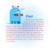 The story of Pixel the Robot