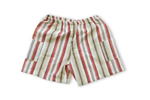Kumquat:  Stripe Cargo Shorts