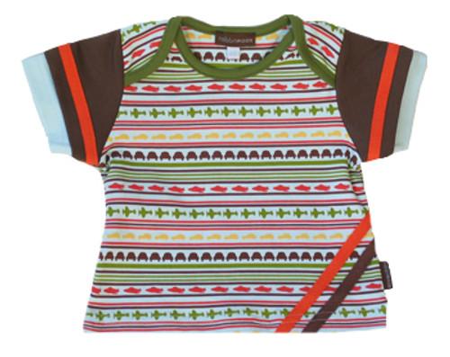 Rabbit Moon:  Voyage Striped Shirt