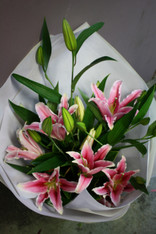 Perfumed Oriental Lily Bouquet. Very popular bouquet.