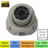 True Full HD 1080P AHD 2 MegaPixel Analog Vandal Dome Day Night Camera --- CUH80P03W