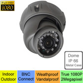 True Full HD-TVI 1080P 2.1MegaPixel Analog Vandal Dome Day Night Camera