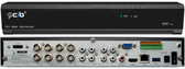 8CH 5MP True Full HD-TVI/AHD/IP/960 Hybrid, plus 4CH 5MP IP, 4K HDMI Output,  P2P Network Remote Viewing, Spot Management, Up to 40TB HDD