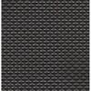 thumbnail image of Sambonet Linea Q Table Mats Table mat, brown - black, 16 1/2 x 13 inch
