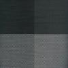 thumbnail image of Sambonet Linea Q Table Mats Table mat, black four sectors, 16 1/2 x 13 inch