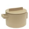 thumbnail image of Sambonet Terra Cotto Saucepot, 2 handles with lid, Saffron