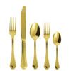 thumbnail image of Sambonet Filet Toiras Gold 5 pcs Place Setting, solid handle