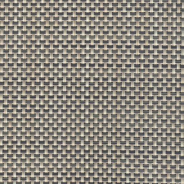 Linea Q Table Mats  Table mat, beige - grey, 16 1/2 x 13 inch