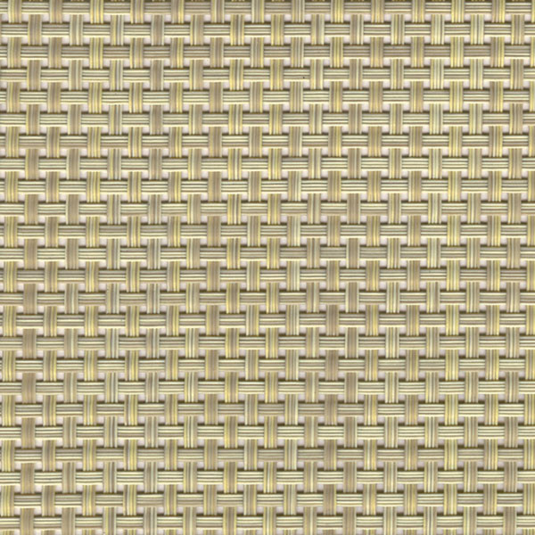 Sambonet Linea Q Table Mats Table mat, beige, 16 1/2 x 13 inch