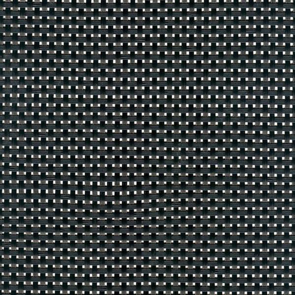 Linea Q Table Mats  Table mat, black (a), 16 1/2 x 13 inch