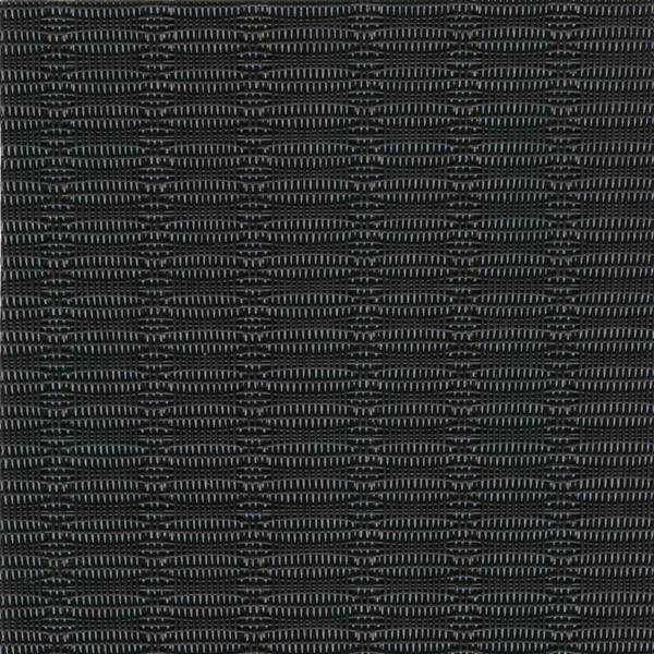 Linea Q Table Mats  Table mat, black (b), 16 1/2 x 13 inch