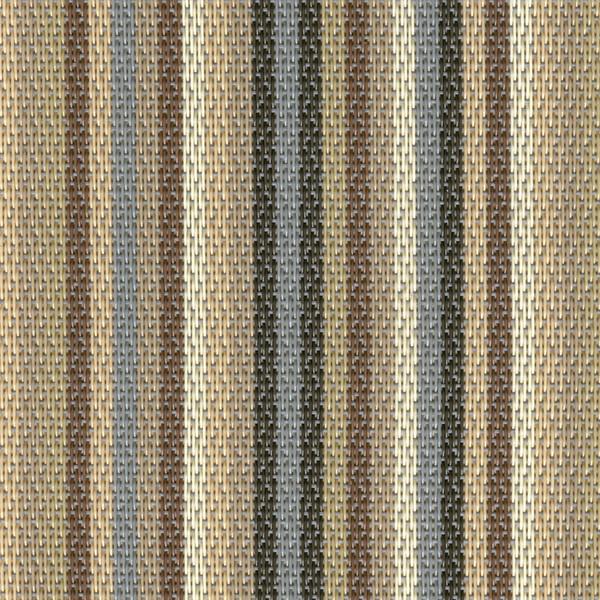 Sambonet Linea Q Table Mats Table mat, green stripes, 16 1/2 x 13 inch