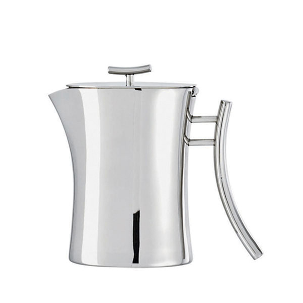 Bamboo Stainless Steel Coffee pot, 17 5/8 ounce