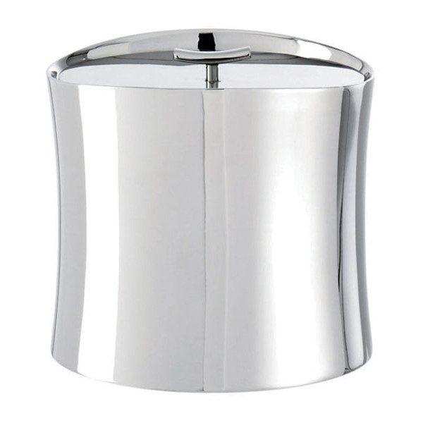 Sambonet Bamboo Insulated ice bucket, 6 1/2 x 5 x 5 5/8 inch