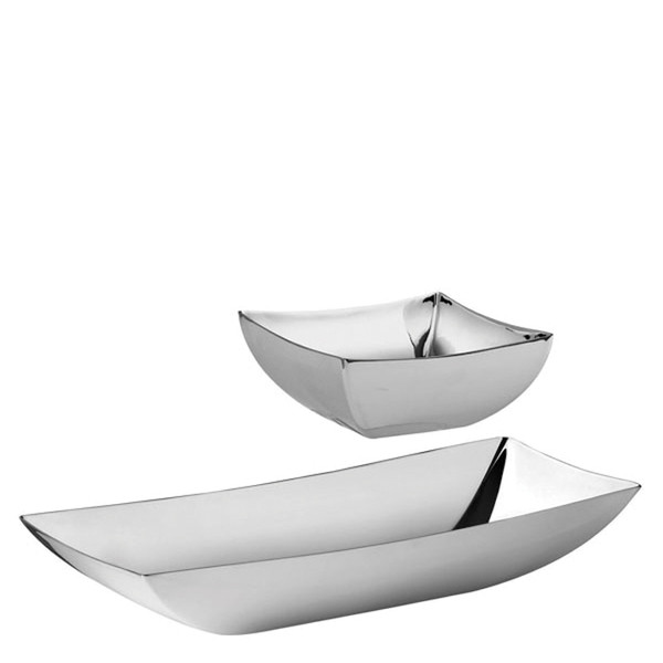 Linea Q Stainless Steel Bowl set, 3 pcs, giftboxed