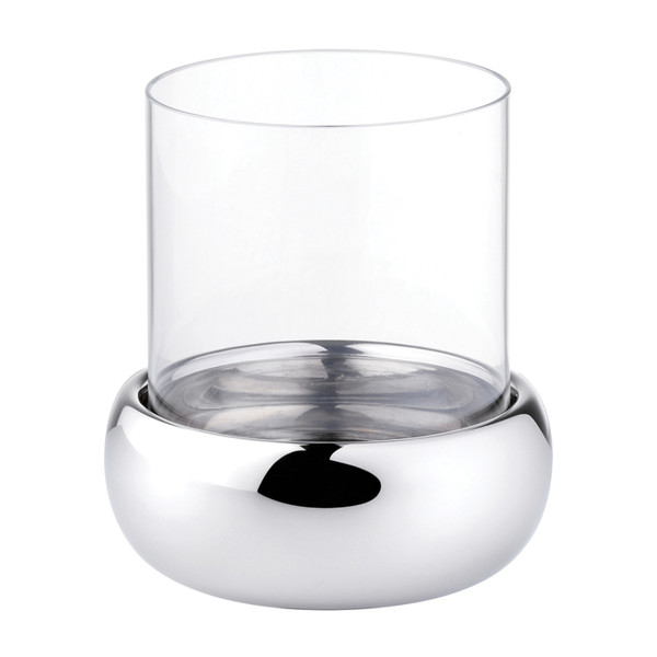 Sphera Stainless Steel Spare glass for candle holder, 4 3/4 inch