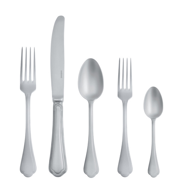 Filet Toiras Antico 18/10 Stainless Steel 5 pcs Place Setting, solid handle