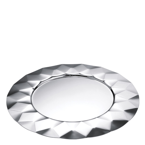 Malia Stainless Steel Showplate / Service Plate, 13 inch