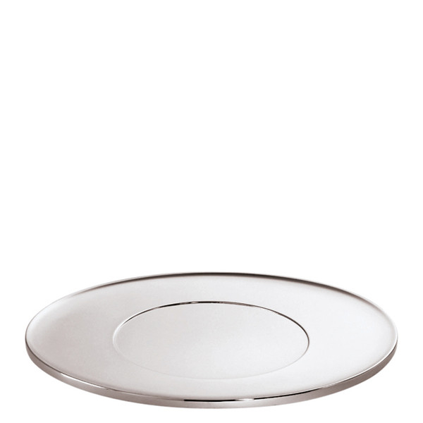 T Light Stainless steel Oval show plate, 11 3/4 x 11 3/4 inch