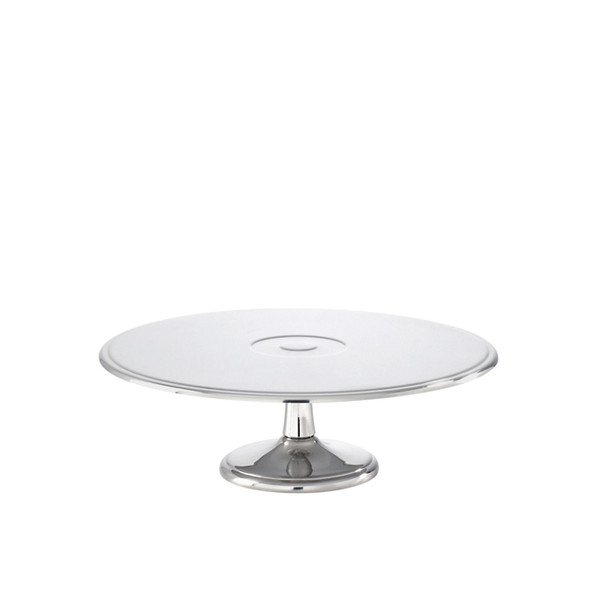 Elite Stainless Steel Cake stand, 11 x 3 3/4 inch