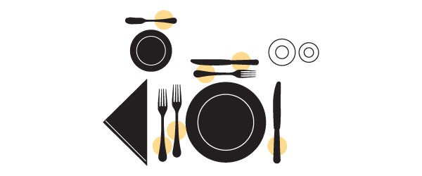 Table Setting Fundamentals Flatware Scheme