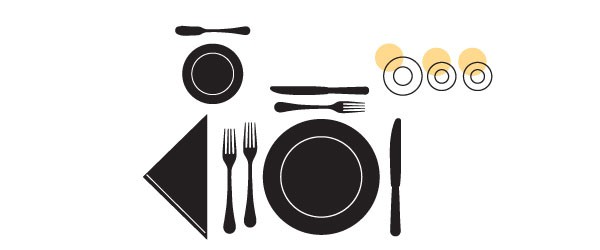 Table Setting Fundamentals Glasses Scheme