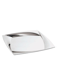 Lucy Stainless Steel Square tray, 14 1/8 x 14 1/8 inch (56919-36)