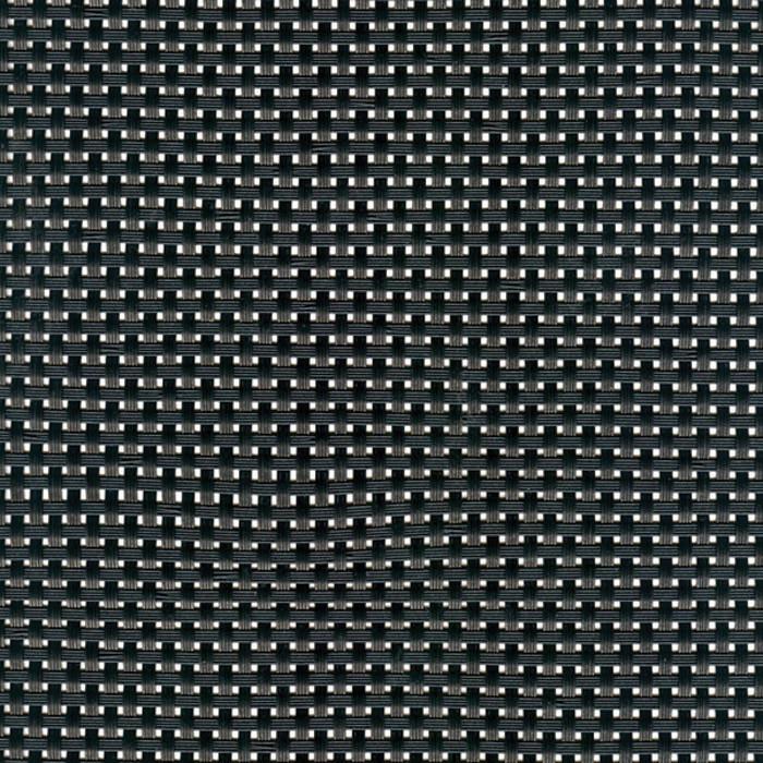 Sambonet Linea Q Table Mats Table mat, black (a), 16 1/2 x 13 inch