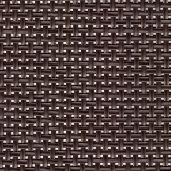 Sambonet Linea Q Table Mats Table mat, brown, 16 1/2 x 13 inch