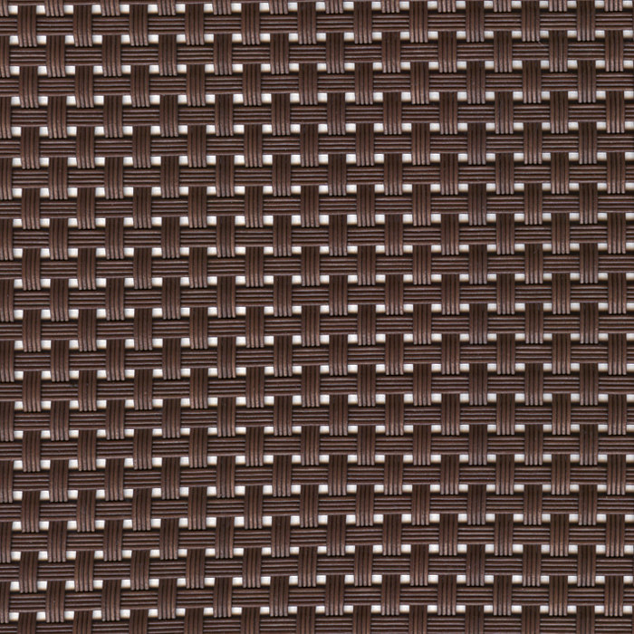 Sambonet Linea Q Table Mats Table mat, brown, 18 7/8 x 14 1/8 inch