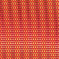 Sambonet Linea Q Table Mats Table mat, pink- orange, 16 1/2 x 13 inch