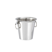 Sambonet Elite Ice bucket, 4 7/8 x 5 7/8 inch