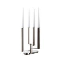 Sambonet Domus Candelabra 4 lights, 7 7/8 x 3 1/8 x 12 1/4 inch