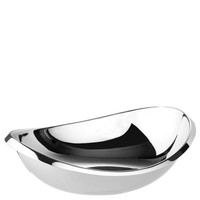 Sambonet Twist Oval bowl, 11 3/4 inch