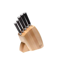 Knives Black Knife Block Set, 5 knives