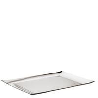 Sambonet Linea Q Rectangular tray, 16 7/8 x 11 inch