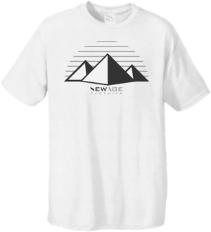 New Age Clothing |  TriPy  White Cool Greys Tees