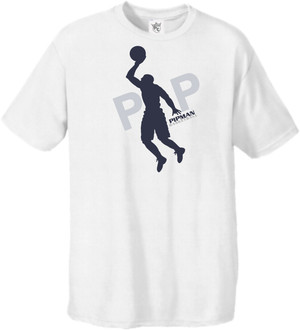 Pipman BBall Tee Navy/Cool Grey