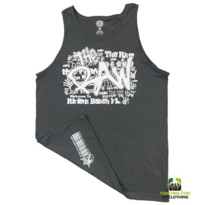 "Pipclothing - Rep Ur Hood ""The Raw"" Dark Grey Tank"