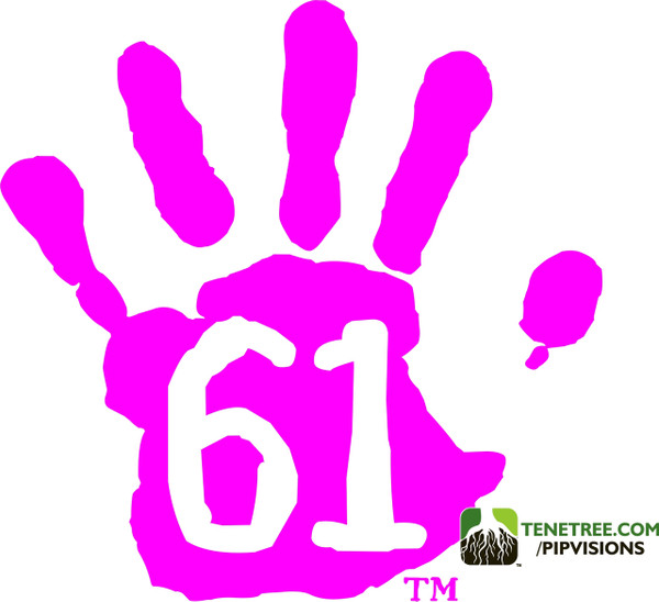 Pipvisions 561 Stickers Pink
