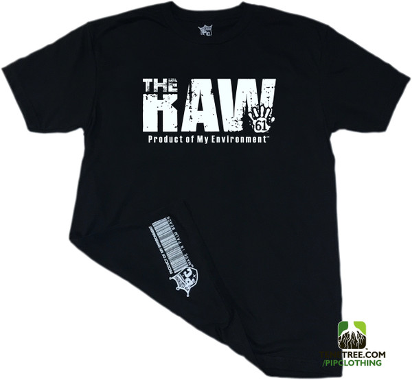 "Rep Ur Hood ""The Raw Environment"" Black Crew"