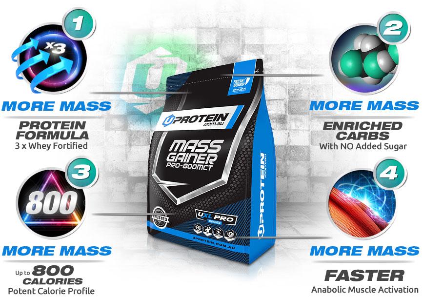 Mass Gainer Pro 800MCT