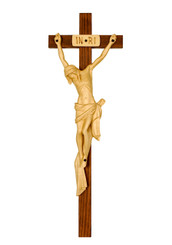 Handcarved Crucifix 17.5""