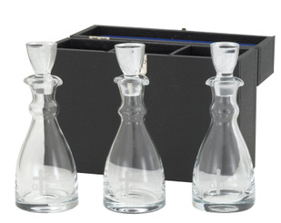 Glass Chrismal Set with Carrying Case (10oz)