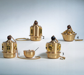 Censer, Boat and Spoon Set