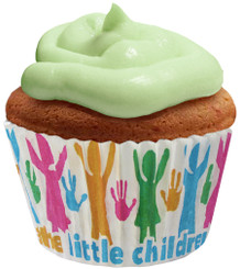 The Little Children Cupcake Paper