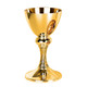 Gold Plated Chalice