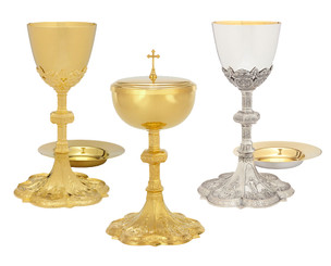 Chalice and Ciborium Life of Christ