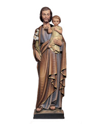 St Joseph with Child Statue 2