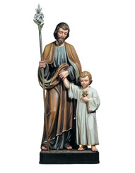 St Joseph with Child Statue 3